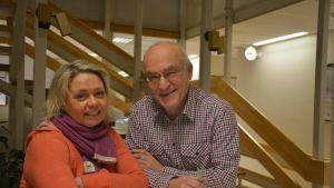 Ilse Klockars och Kaj Lindholm