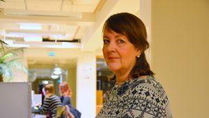 Margareta Forsman studerar till närvårdare.