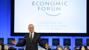 Klaus Schwab öppnar WEF 2014