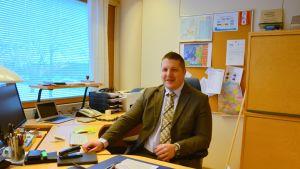 Kvarkensrådets direktör Mathias Lindström