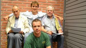 Jörn Donner, Niko Ingman, Martin Bahne, Lauri Törhönen