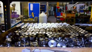 Svarvade metallkomponenter