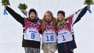 Medaljtrion, slopestyle, OS 2014