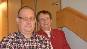 Egon Blomqvist och Lena Selén