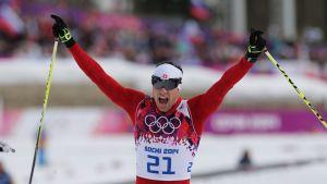 Dario Cologna vann OS-guld