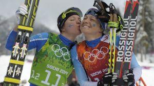 Aino-Kaisa Saarinen & Kerttu Niskanen, OS 2014