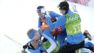 Sami Jauhojärvi & Iivo Niskanen, OS 2014