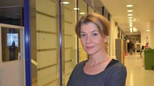 "Journalisten Jeanette Björkqvist är en av upphovsmakarna bakom ""Kvinna till salu""."