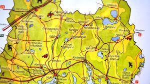 östra nylands byar