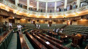 Parlamentssalen i Kairo.