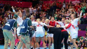 Norges damer kämpar om OS-guld i London
