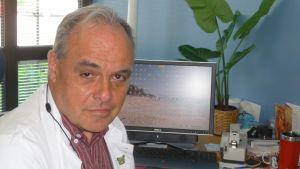 Chefsläkare Ralf Backman tror inte han bär på sjukhusbakterier