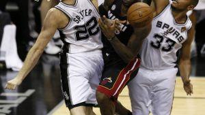 San Antonio Spurs slog Miami Heat i final fem.