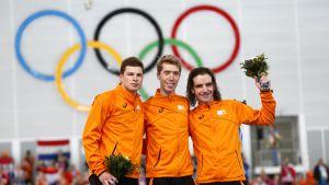 Medaljtrio, 10000m, OS 2014
