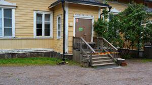 Daghemmet Villa Villekulla i Borgå drabbades av brand den 22.5.13
