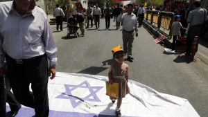 Iranierna samlades till demonstrationer mot Israel