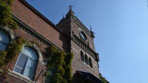 Klocktornet i Vasa sockers fabrik.