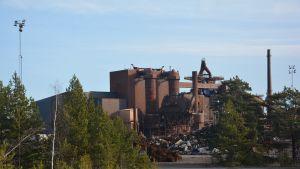Den gamla stålfabriken i Koverhar.
