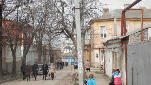 Simferopol i solsken.