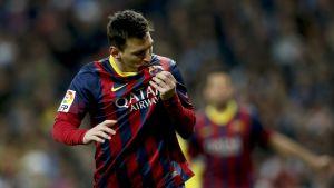 Lionel Messi avgjorde El Clasico.