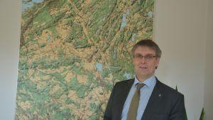 Sjundeås kommundirektör Juha-Pekka Isotupa