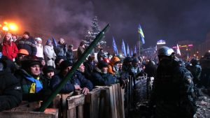 Självständighetstorget i Kiev 11.12.2013