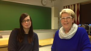 Ann-Sofi Hansas och Marianne Nyqvist-Mannsén