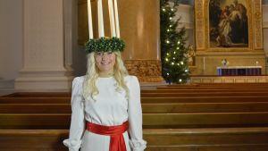Elin Andersson är Finlands lucia 2013
