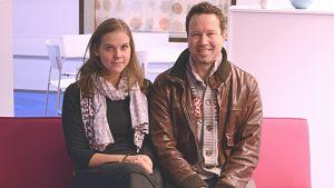 Amanda Audas-Kass och Larrie Griffin är tisdagssnackare i Morgonöppet.