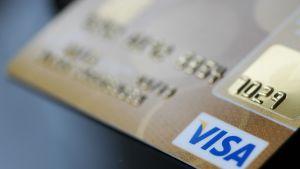 Visa-kreditkort.