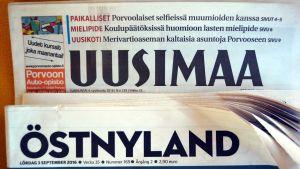 tidningarna uusimaa och östnyland