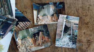 Bilderna från Kauhava visar att den gamla mangårdsbyggnaden delvis hade förfallit.