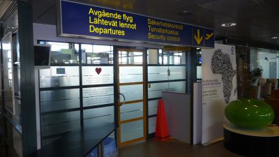 Etnas aska stangde flygplats