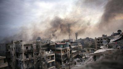 Sjukhus utslagna i aleppo