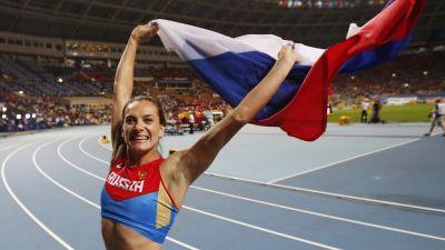 Isinbajeva och bolt arets idrottare