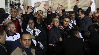 Palestinska fangar frigavs 2