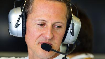 Schumacher fortfarande nedsovd