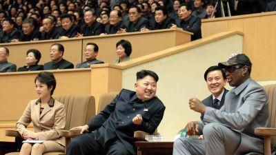 Nordkorea har slappt amerikaner