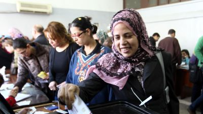 Egyptiska domare skots ihjal