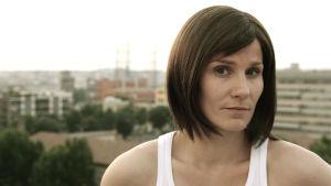 Laura Malmivaara elokuvassa Later Fragments. Yle Kuvapalvelu.