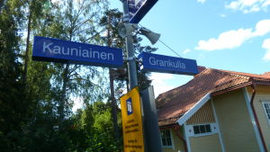 Grankulla station.
