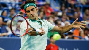 Roger Federer, tennisspelare.