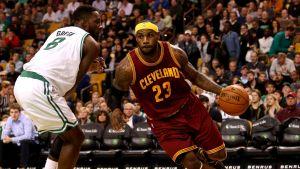 LeBron James satte 41 poäng.