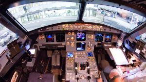 cockpit i airbus a320