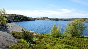 Insjön på Björkö.