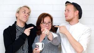 Heidi Finnilä var onsdagsgäst i Succémorgon.