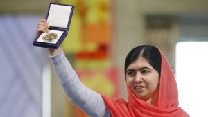 2014 tilldelades Malala Yousafzai Nobels fredspris.