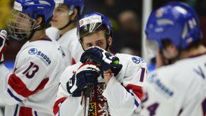 Tjeckien har spelat tio JVM-turneringar i rad utan att vinna medalj.