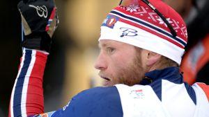 Martin Johnsrud Sundby har fortfarande ledningen i Tour de Ski.