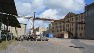 Pukkilas gamla kakelfabrik i Åbo.